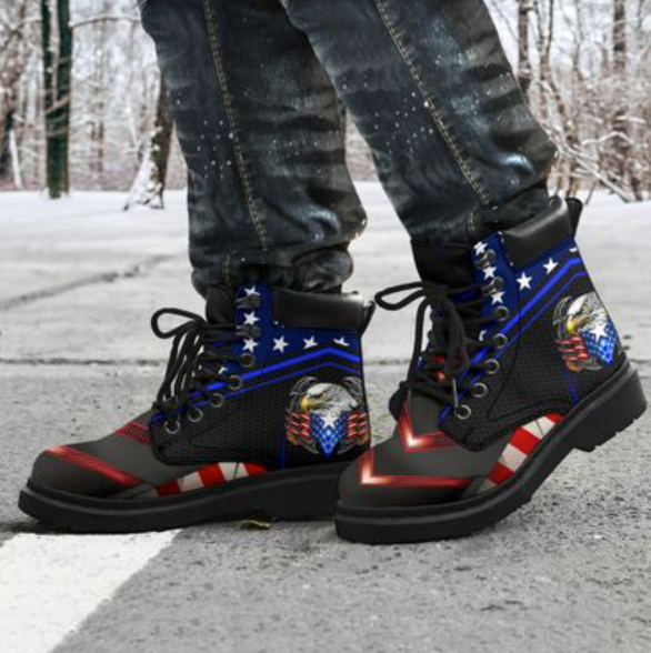 [SALE OFF] PROUD AMERICAN EAGLE TIMBERLAND BOOTS