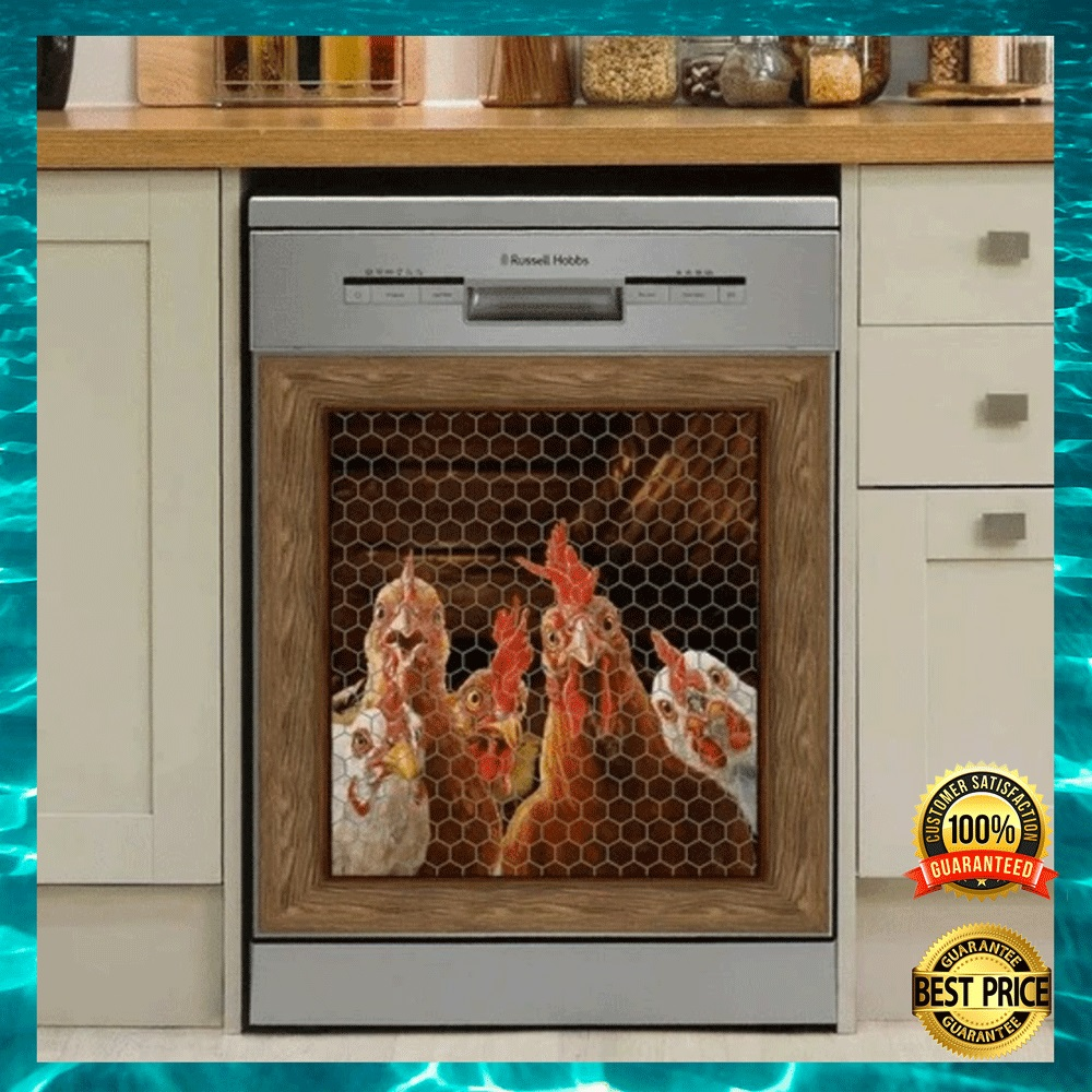 [HIGH] ROOSTER CHICKEN DECOR DISHWASHER COVER