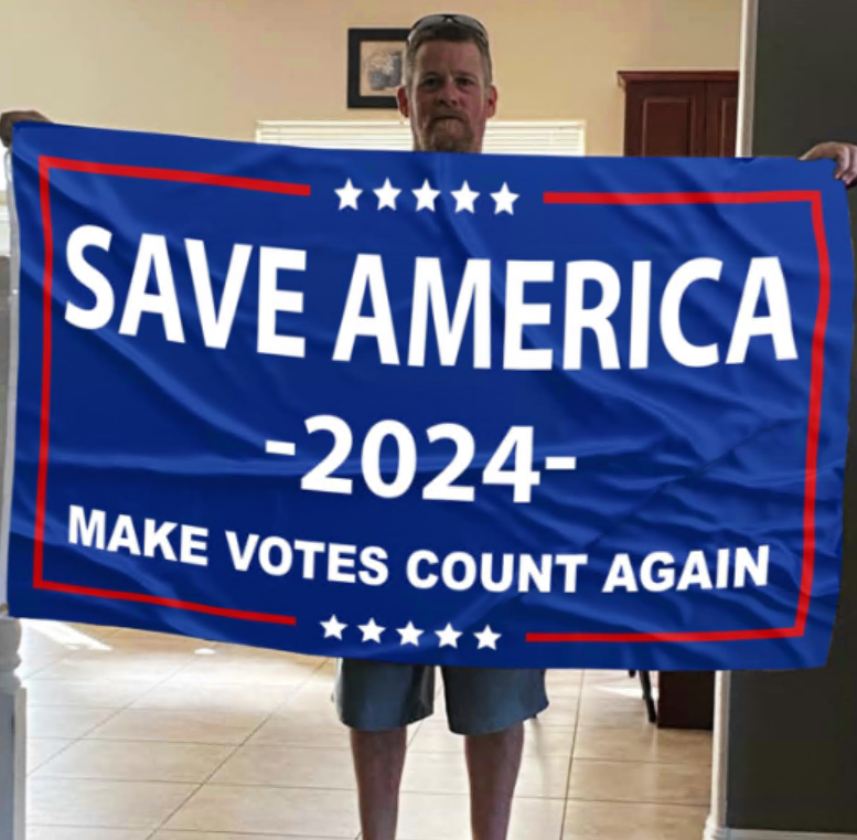 [CHEAPEST] SAVE AMERICA 2024 MAKE VOTES COUNT AGAIN FLAG