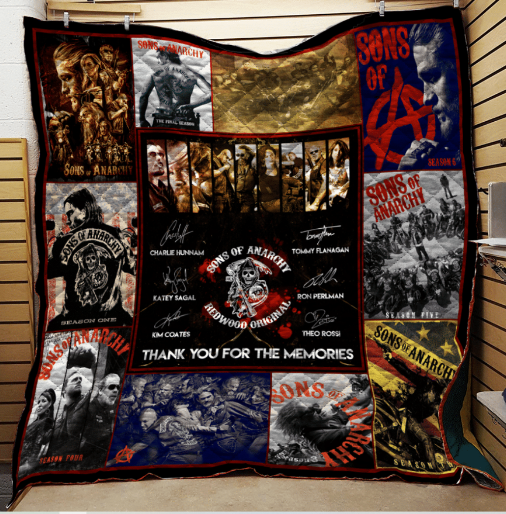 [NICE] SON OF ANARCHY ANNIVERSARY QUILT