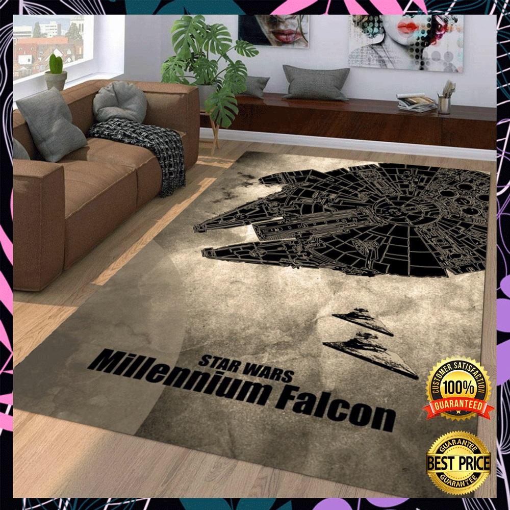[Trend] Star Wars Millennium Falcon Rug
