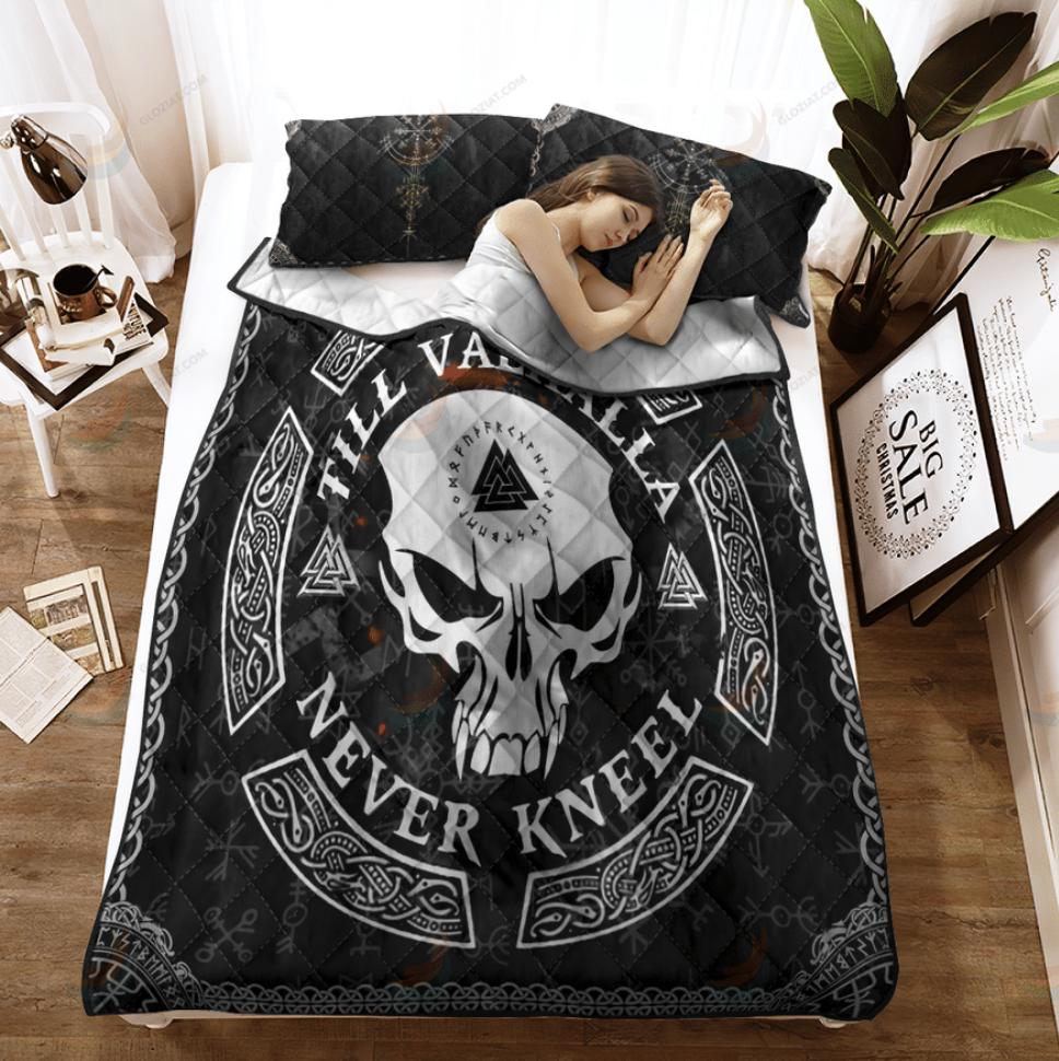[Limited] Till Valhalla Never Kneel Bedding Set