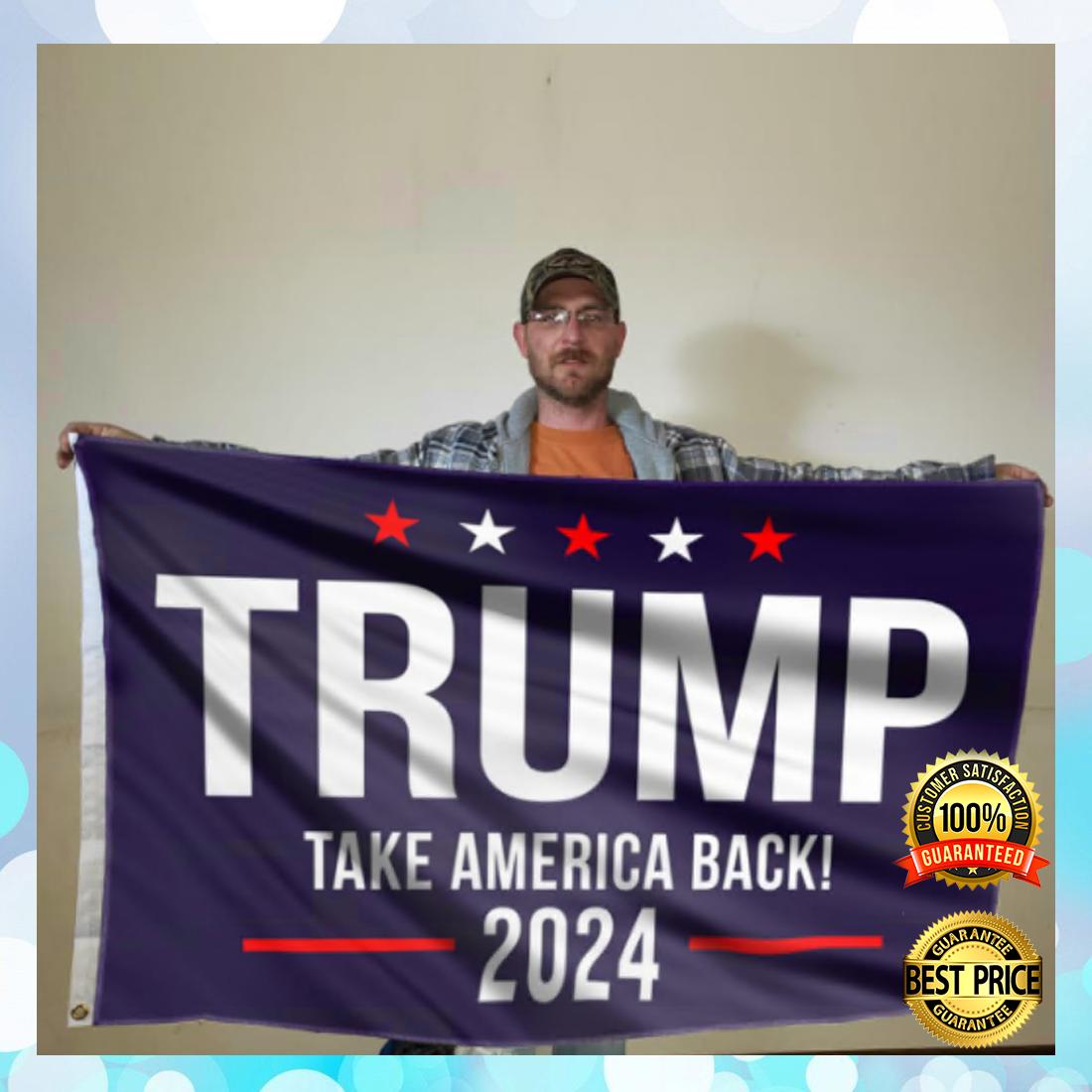 [Trend] Trump Take American Back 2024 Flag
