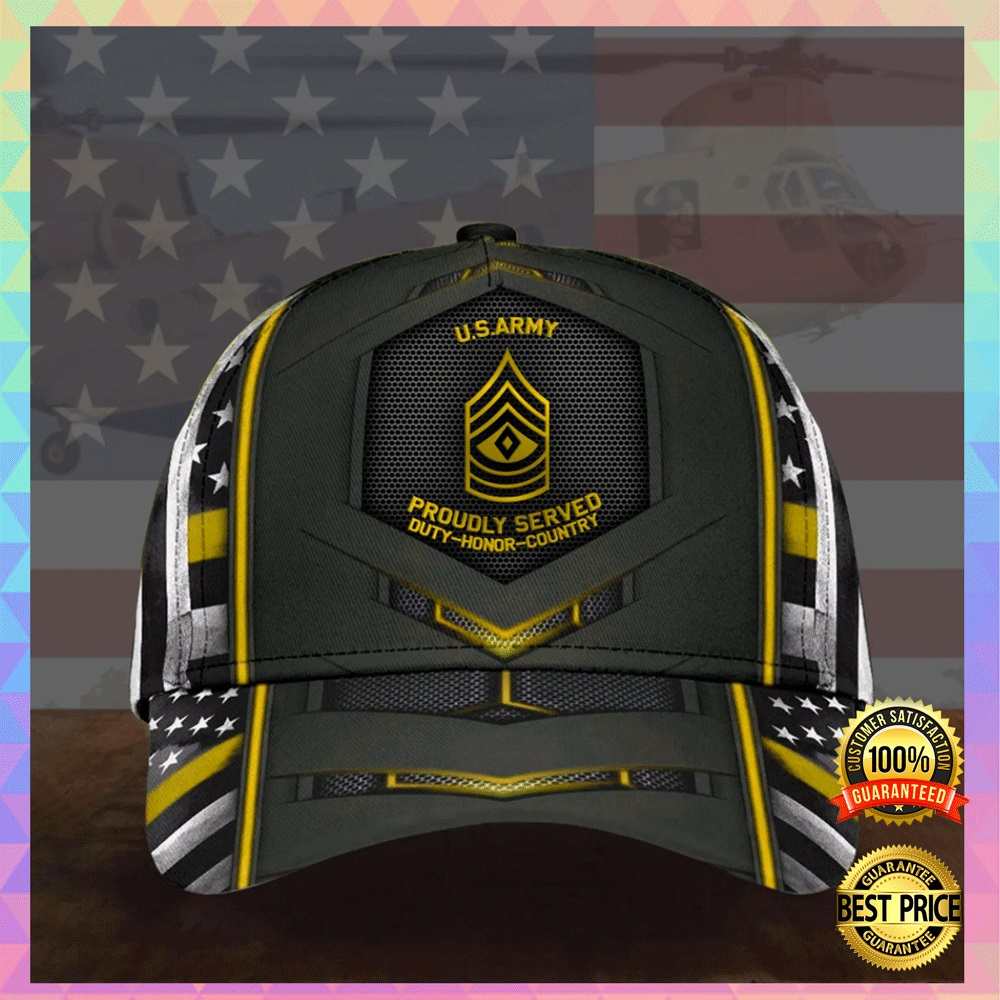 [HOT] US ARMY PROUDLY SERVED DUTY HONOR COUNTRY CAP