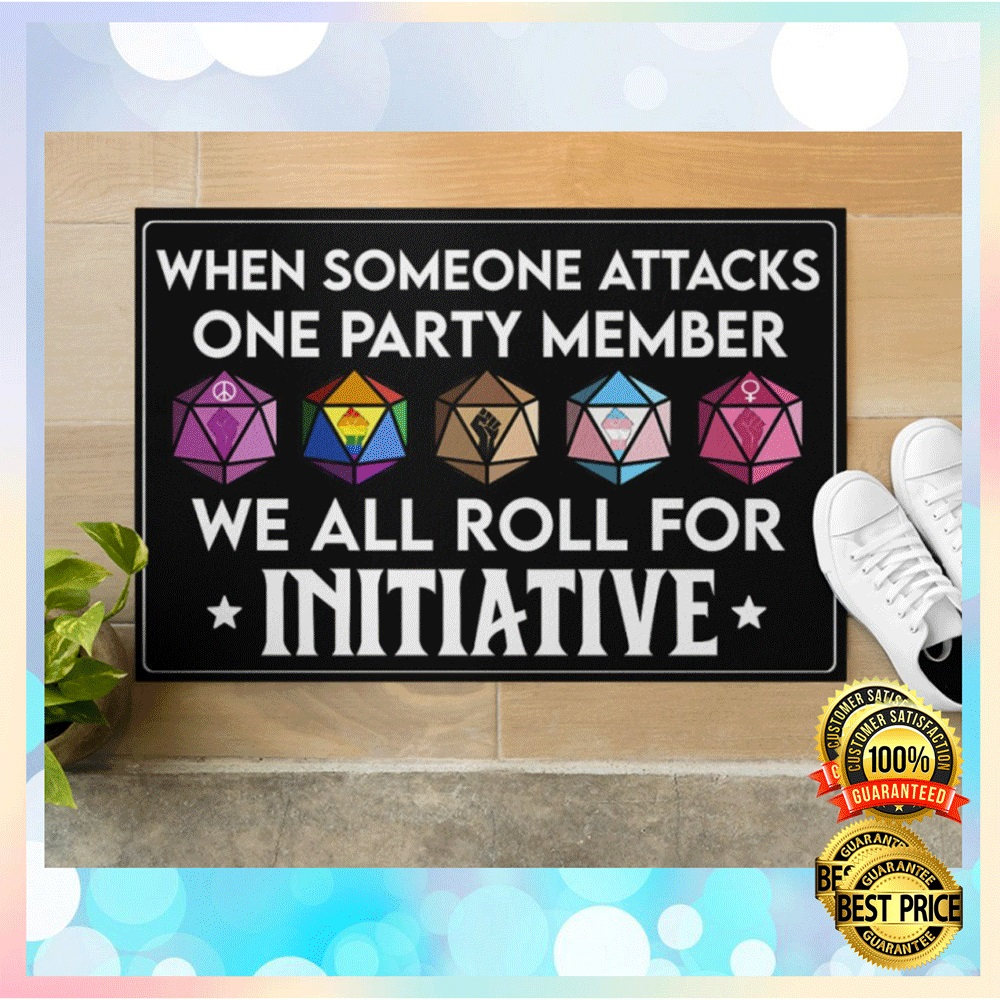 [NEW] When Someone Attacks One Party Member We All Roll For Initiative Doormat