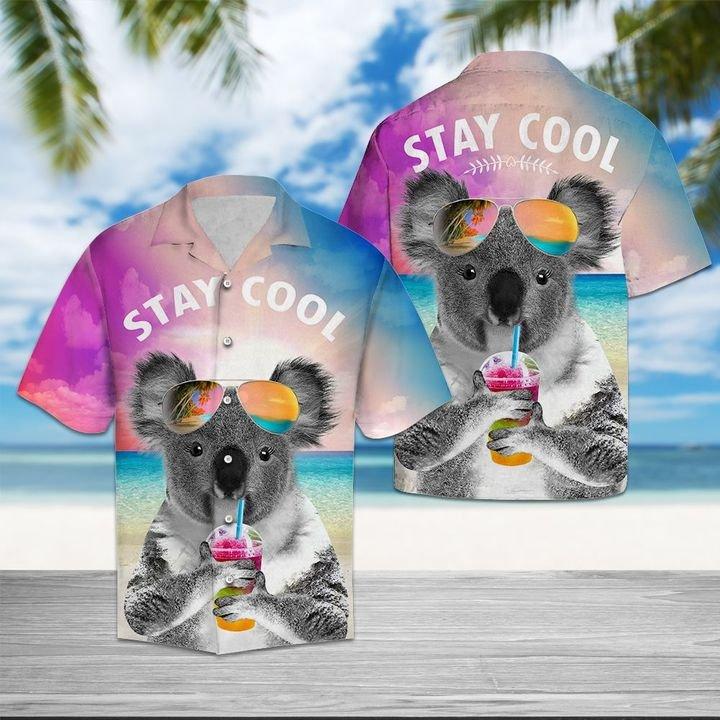 Amazing koala stay cool all over printed hawaiian shirt