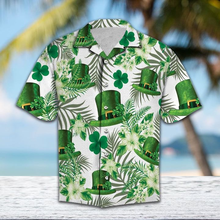 Amazing saint patricks day all over printed hawaiian shirt
