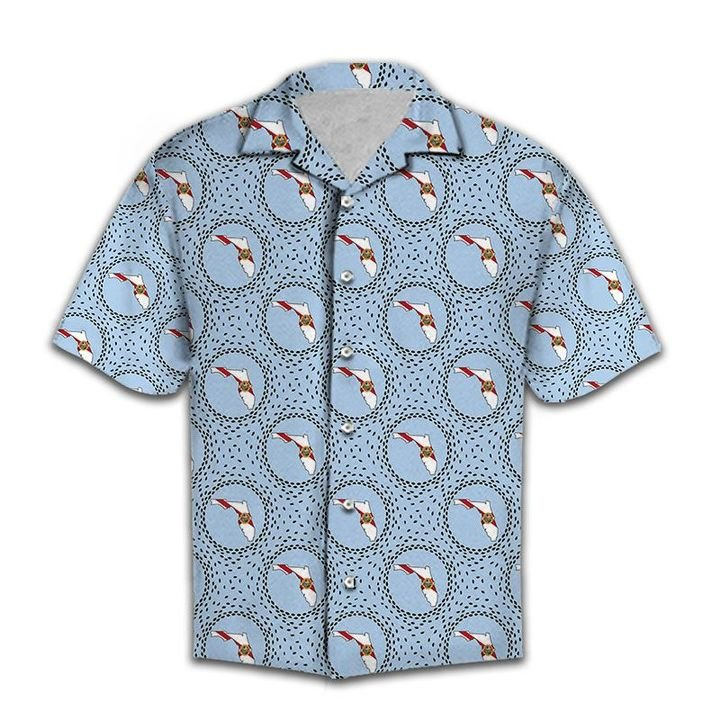 Amazing the florida love all over printed hawaiian shirt
