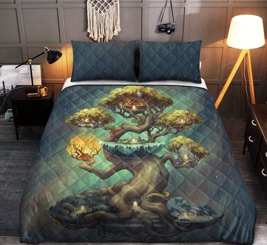 Amazing viking norse mythology all over printed bedding set