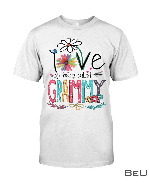 I Love Being Called Grammy Shirt, hoodie, tank top