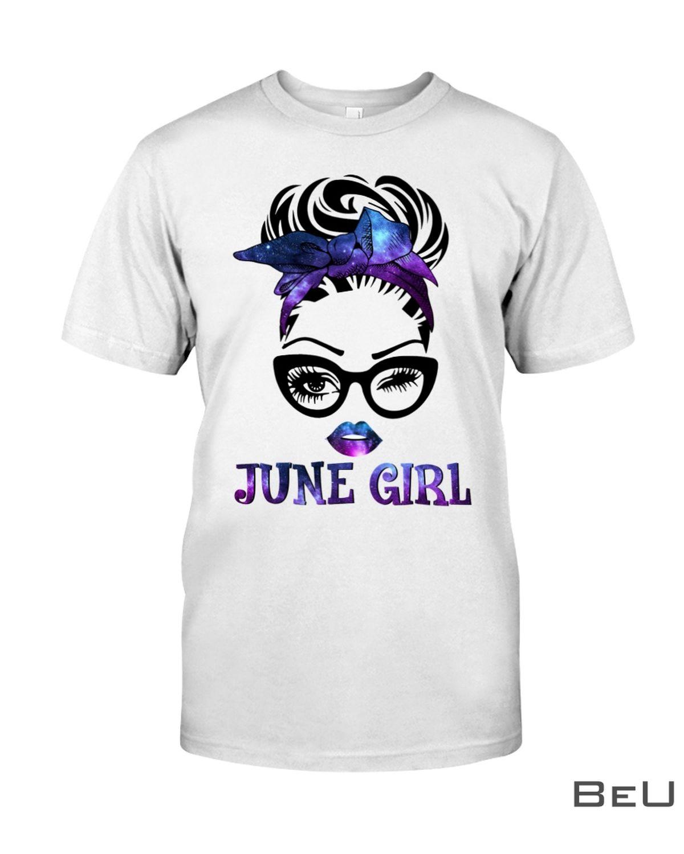 June Girl Galaxy Shirt, hoodie, tank top