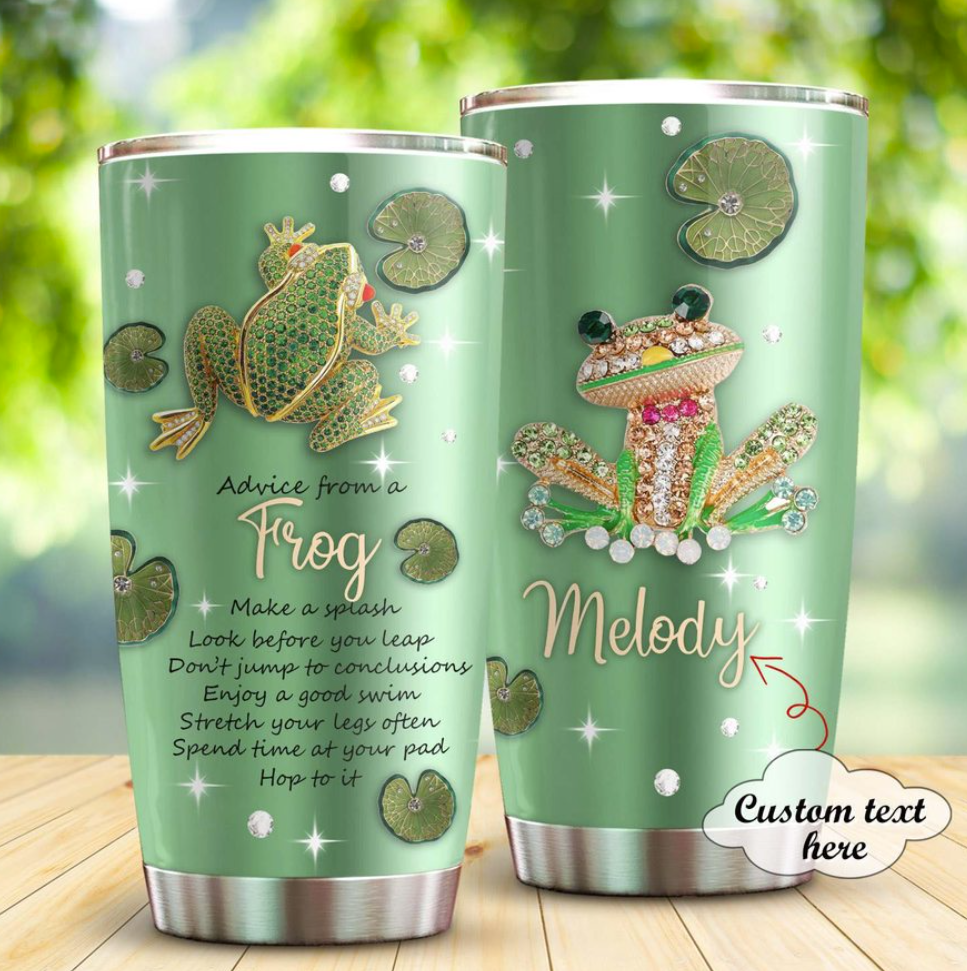 [LIMITED] PERSONALIZED ADVICE FROM A FROG TUMBLER
