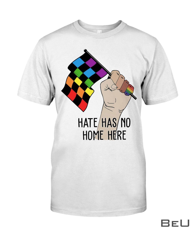 Racing LGBT Hate Has No Home Here Shirt, hoodie, tank top