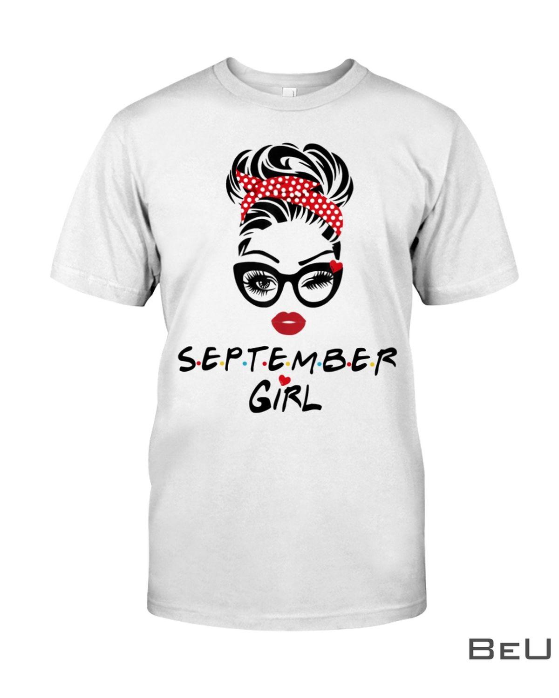 September Girl Wink Eye Shirt, hoodie, tank top