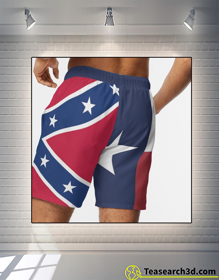 Texas american beach shorts