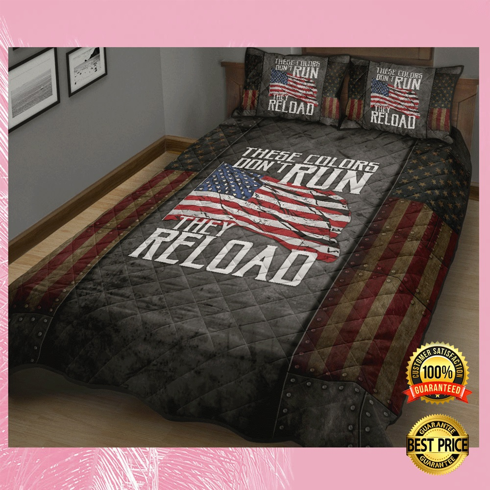 [LIMITED] THESE COLORS DON'T RUN THEY RELOAD BEDDING SET