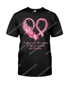 Amazing butterfly i wear my scars like a warrior breast cancer shirt