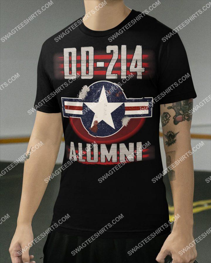 Amazing dd214 alumni marine veteran shirt