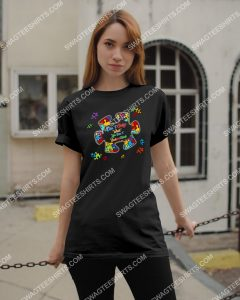 Amazing don't judge what you don't understand autism awareness shirt