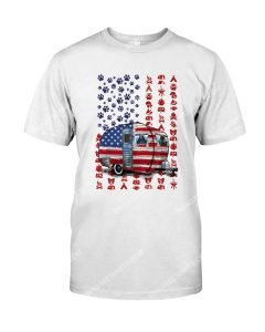 Amazing fourth of july camping and dog shirt
