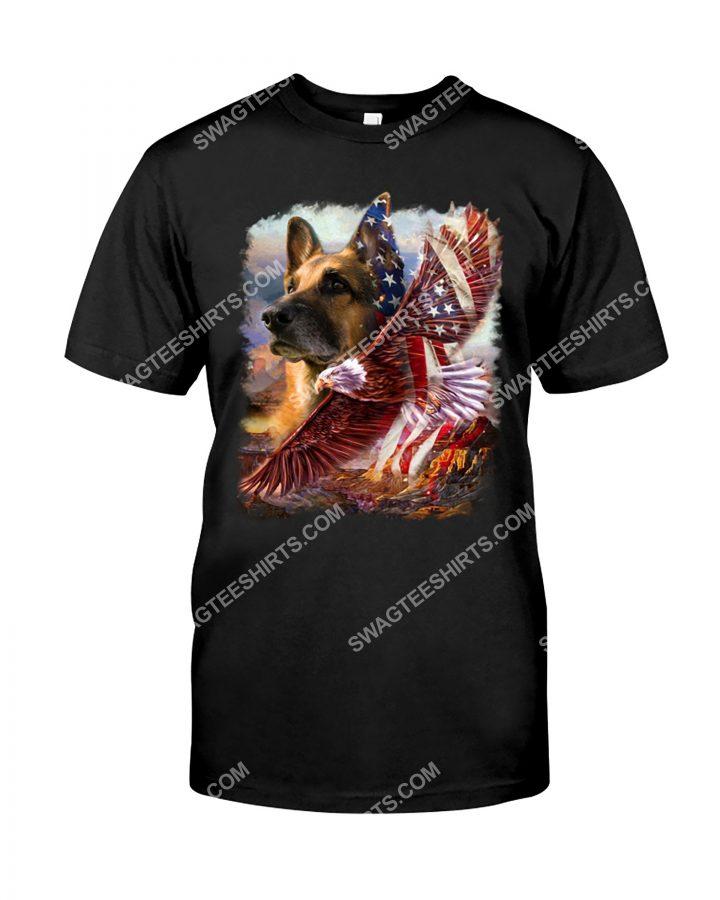 Amazing fourth of july german shepherd dog lover shirt