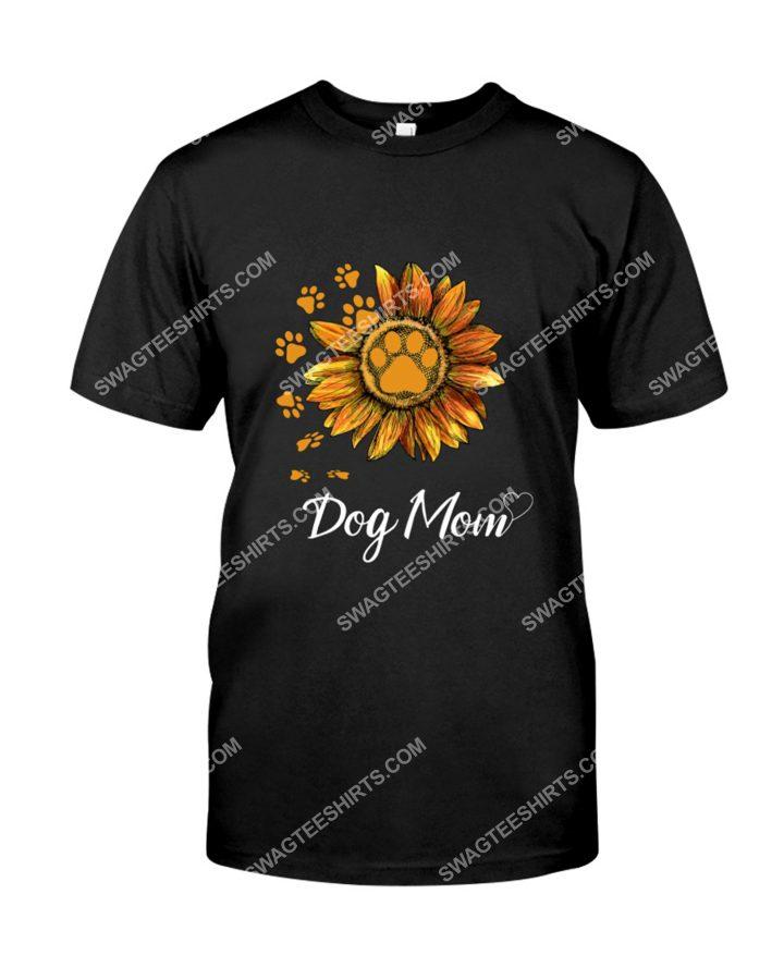 Amazing sunflower dog mom mothers day shirt
