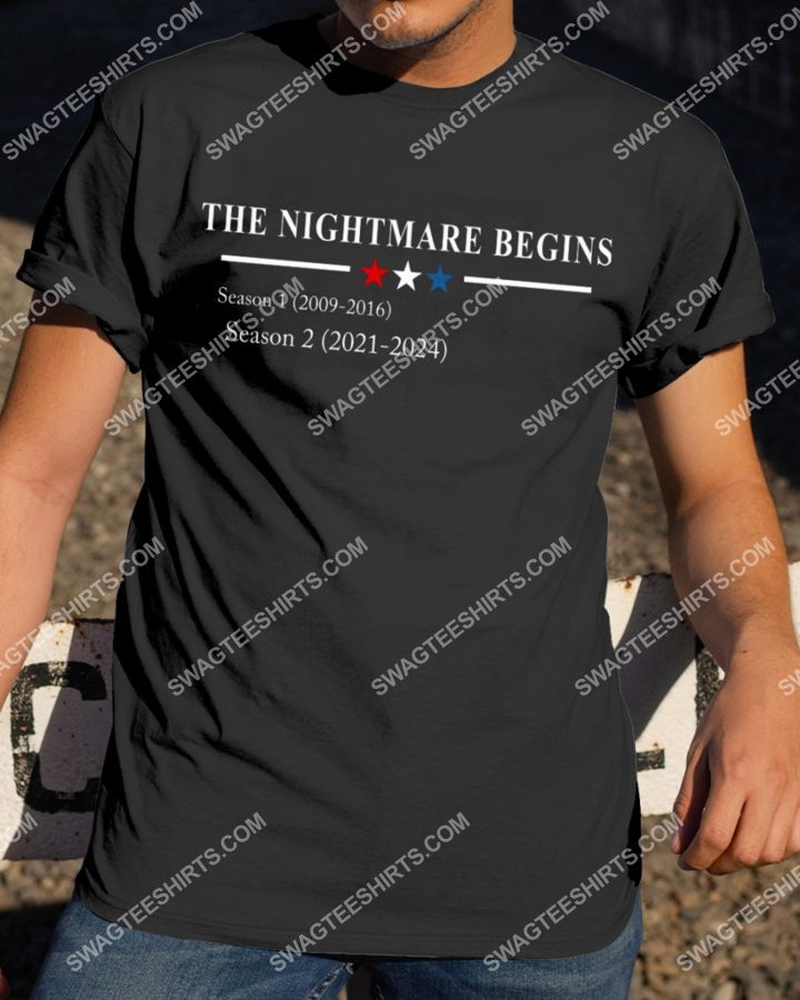 Amazing the nightmare begins season 1 season 2 shirt