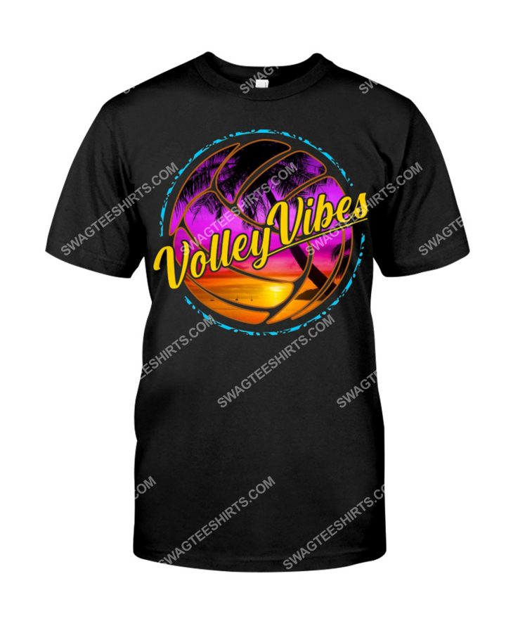 Amazing volleyball volley vibes shirt