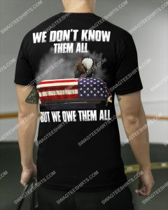[Amazing swagtshirt] we don't know them all but we owe them all veteran shirt