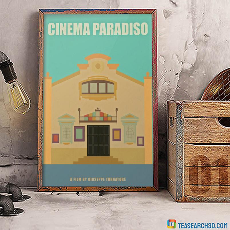 Cinema paradiso a film by giuseppe tornatore poster