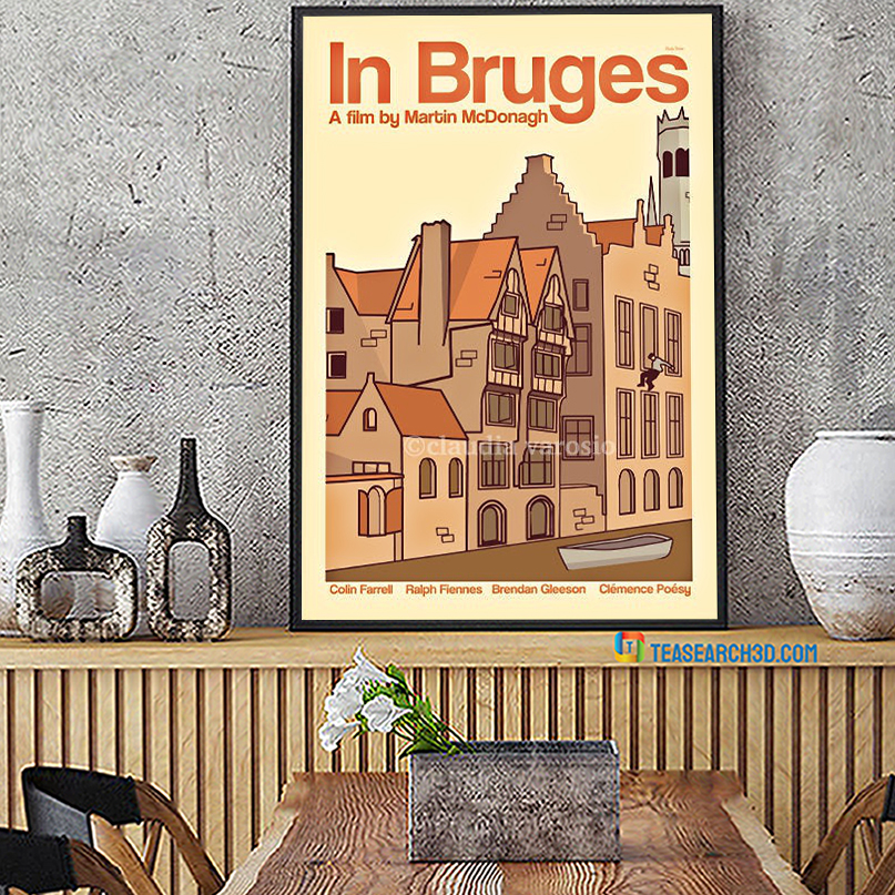 In Bruges a film by martin mcdonagh poster