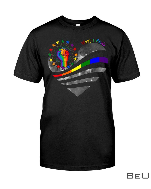 LGBT Happy Pride Shirt, hoodie, tank top