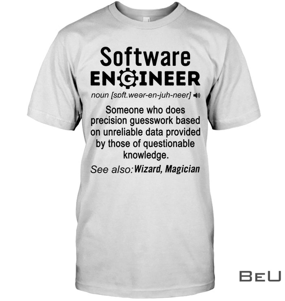 Software Engineer Definition Funny Shirt, hoodie, tank top