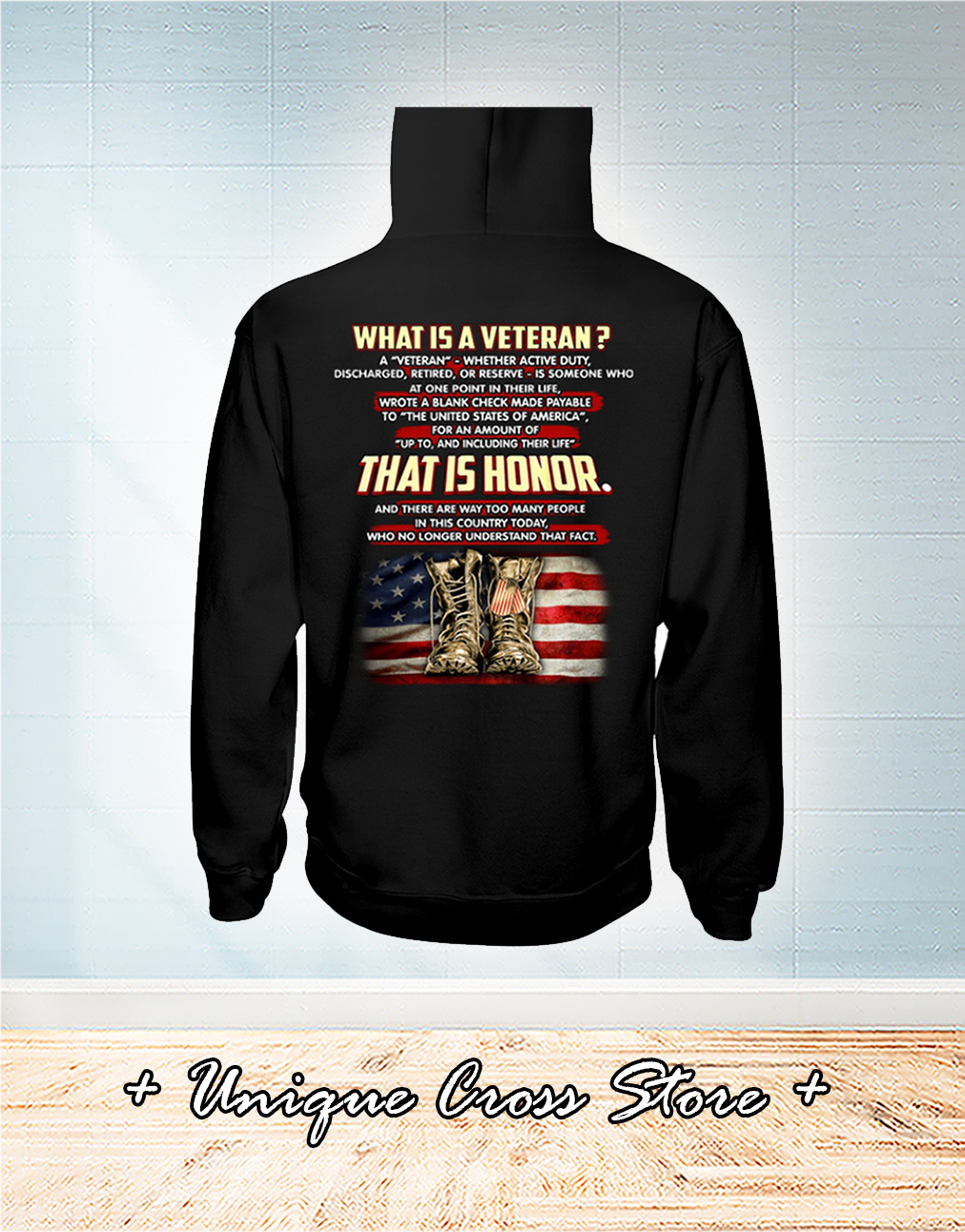 What Is A Veteran That It Honor Shirt