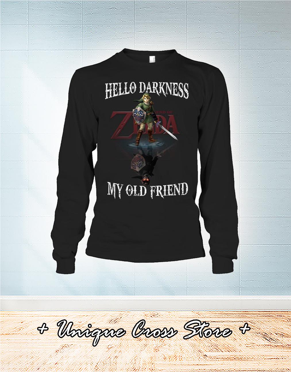 Zelda Hello Darkness My Old Friend Shirt