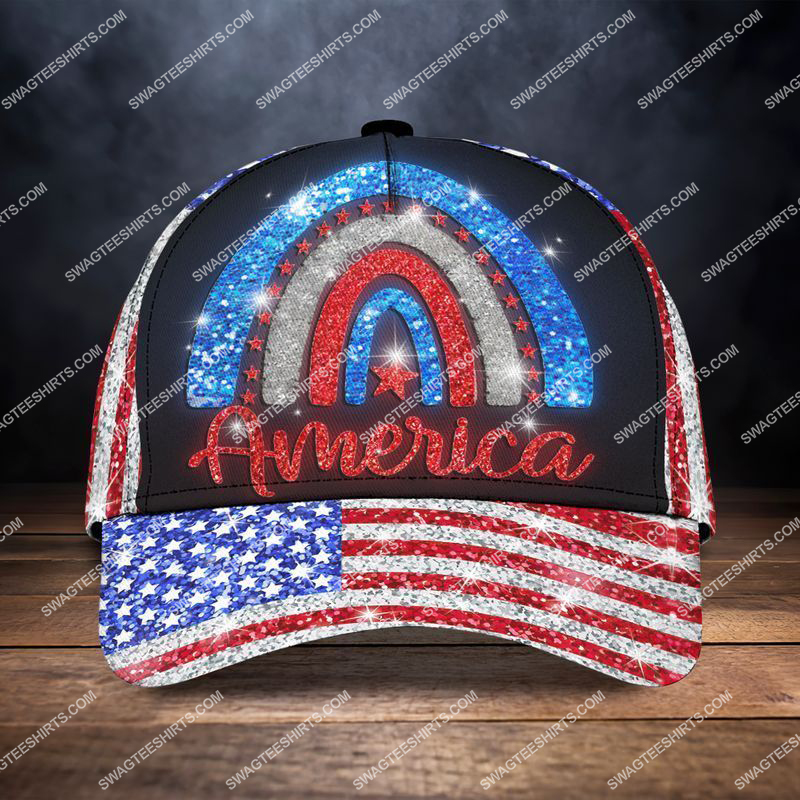 Amazingswagteeshirt]  america flag happy independence day all over printed classic cap