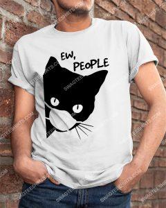 [Amazing mariashirts] black cat with mask ew people shirt