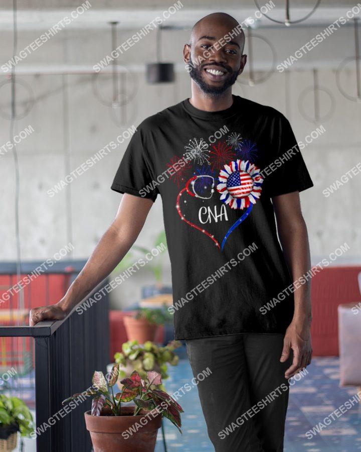 [Amazing mariashirts] cna happy independence day shirt