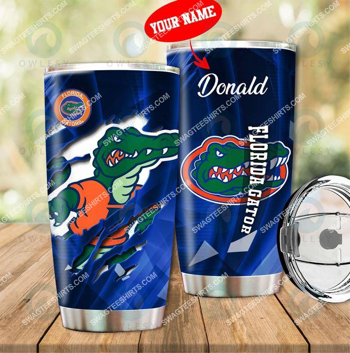 Amazingfullprintingteeshirt] custom name florida gators football full printing tumbler
