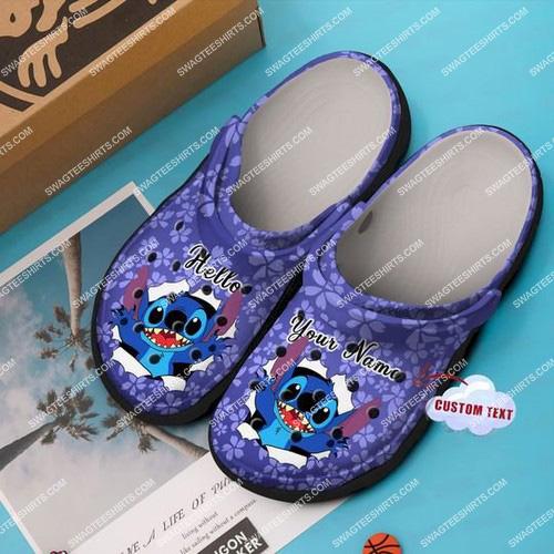 [Amazing swagtshirt] custom name lilo and stitch all over printed crocs