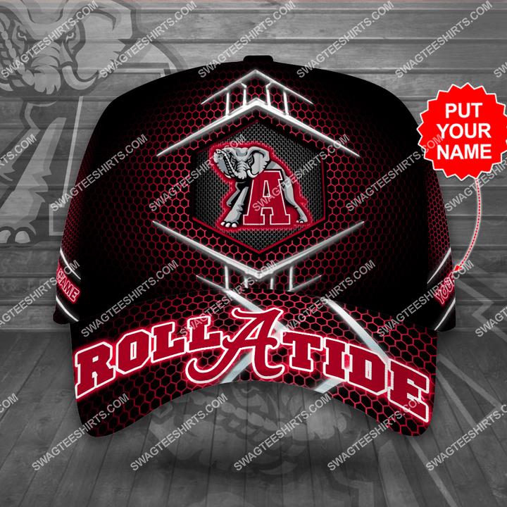 Amazingfullprintingteeshirt] custom name the alabama crimson tide full printing cap
