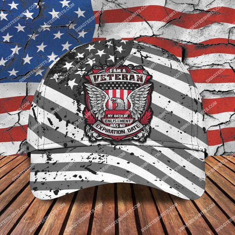 Amazingswagteeshirt]  i am a veteran my oath of enlistment has no expiration date classic cap