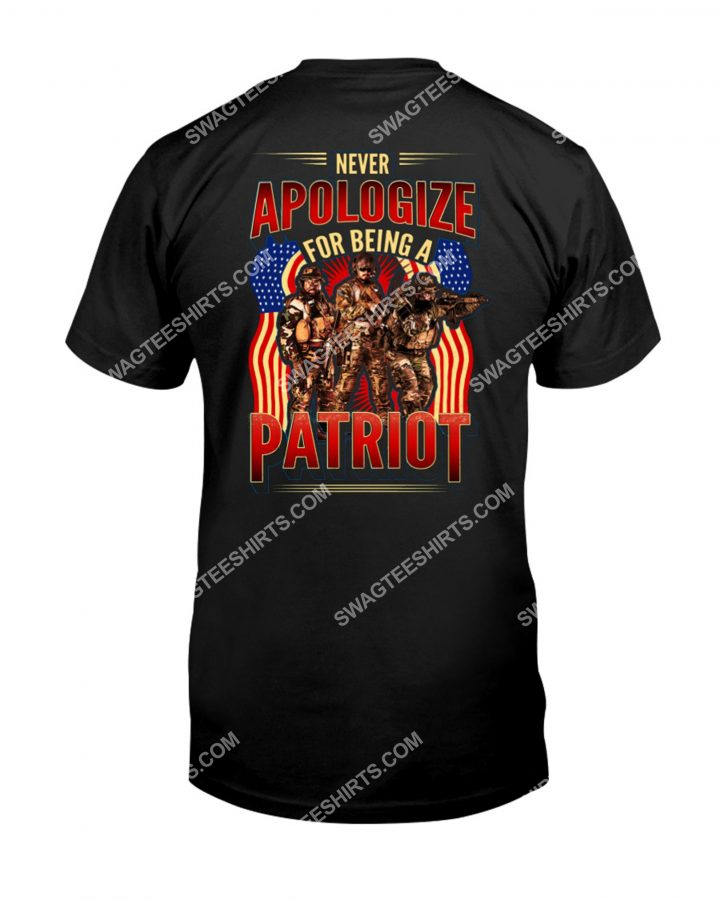 Amazingmariashirts] never apologize for being a patriot shirt