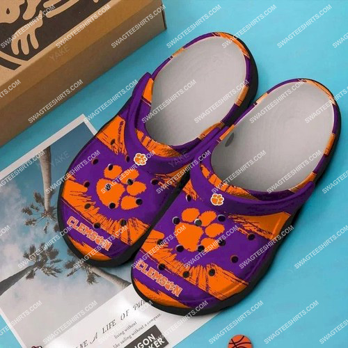[Amazing swagtshirt] the clemson tigers all over printed crocs