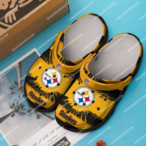 [Amazing swagtshirt] the pittsburgh steelers all over printed crocs