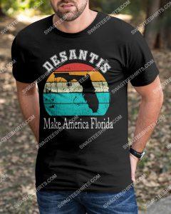 Amazingmariashirts] vintage desantis make america florida shirt