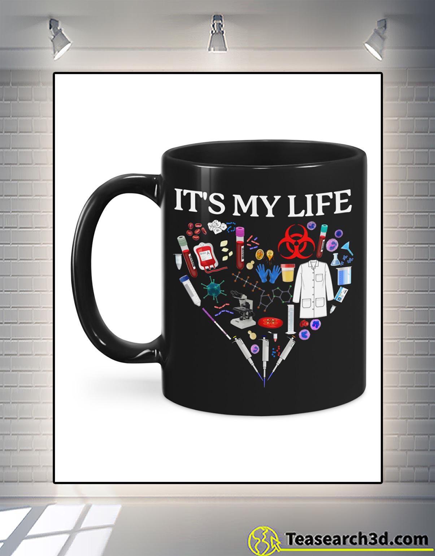 I don't always enjoy being a retired med tech mug