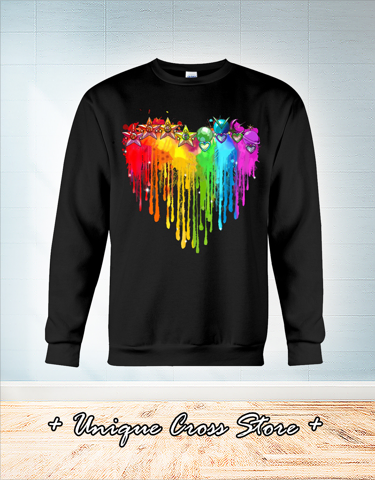 Rb sailor heart color shirt