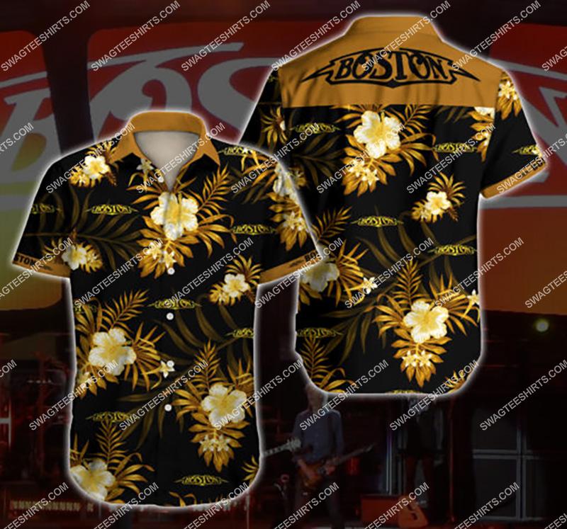 Amazingfullprintingteeshirt] boston band all over print hawaiian shirt