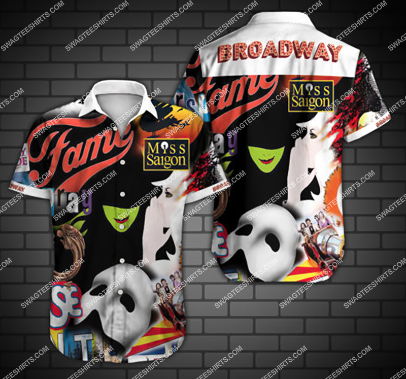 Amazingfullprintingteeshirt] broadway fame all over print hawaiian shirt